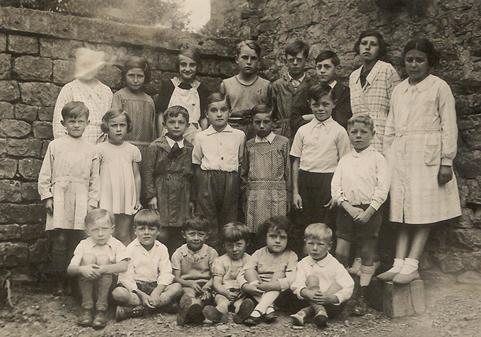 Photo école Williers 1938